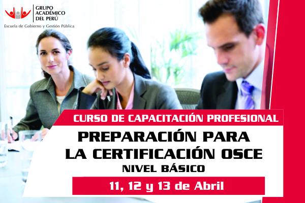 Preparacion Para La Certificacion Osce Nivel Basico Grupo Academico